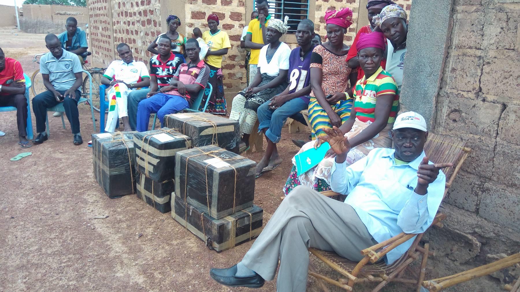 Envoi de colis pour Gnongondémé