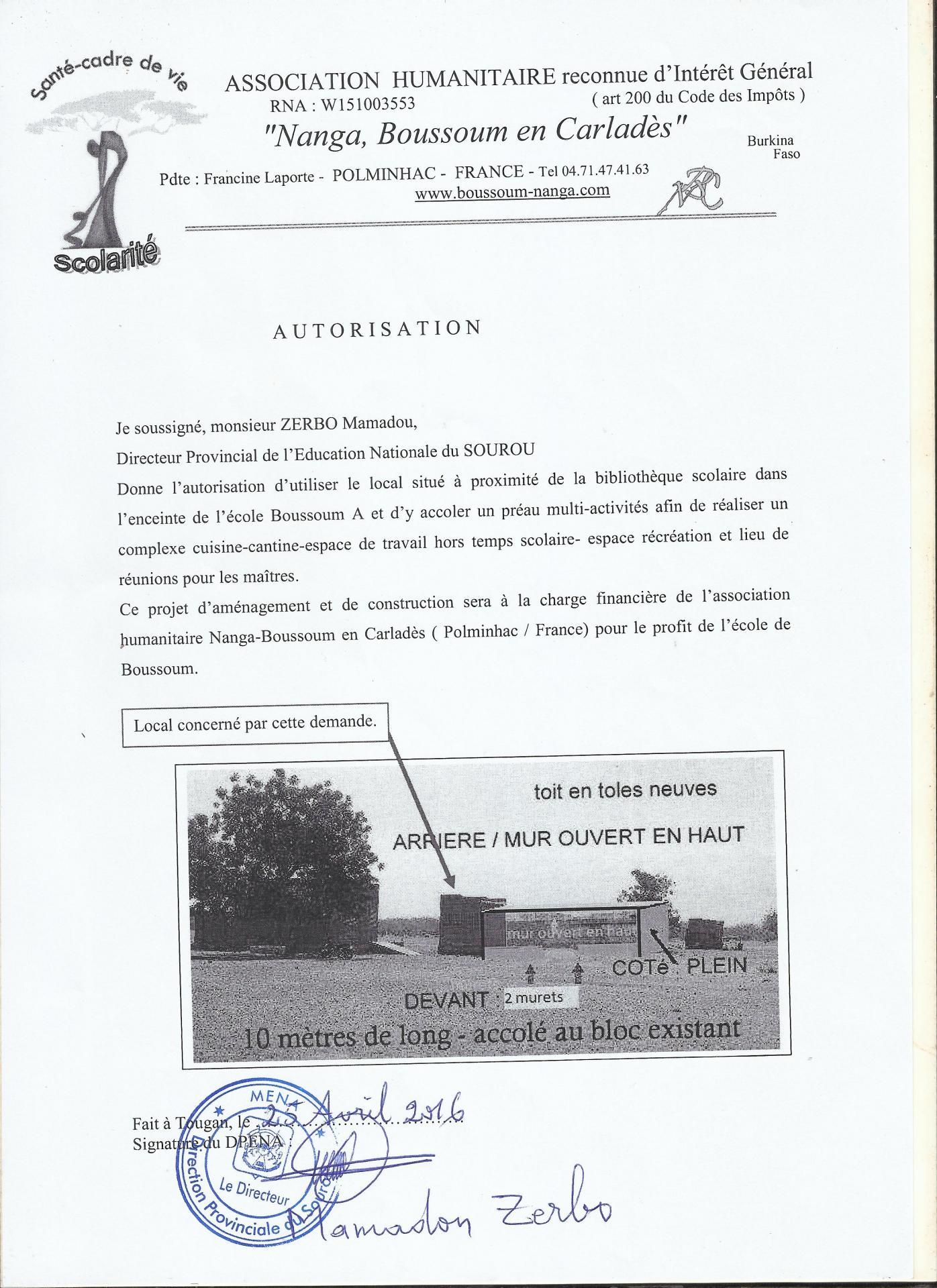 Le pr au multi activit s for Autorisation de construction
