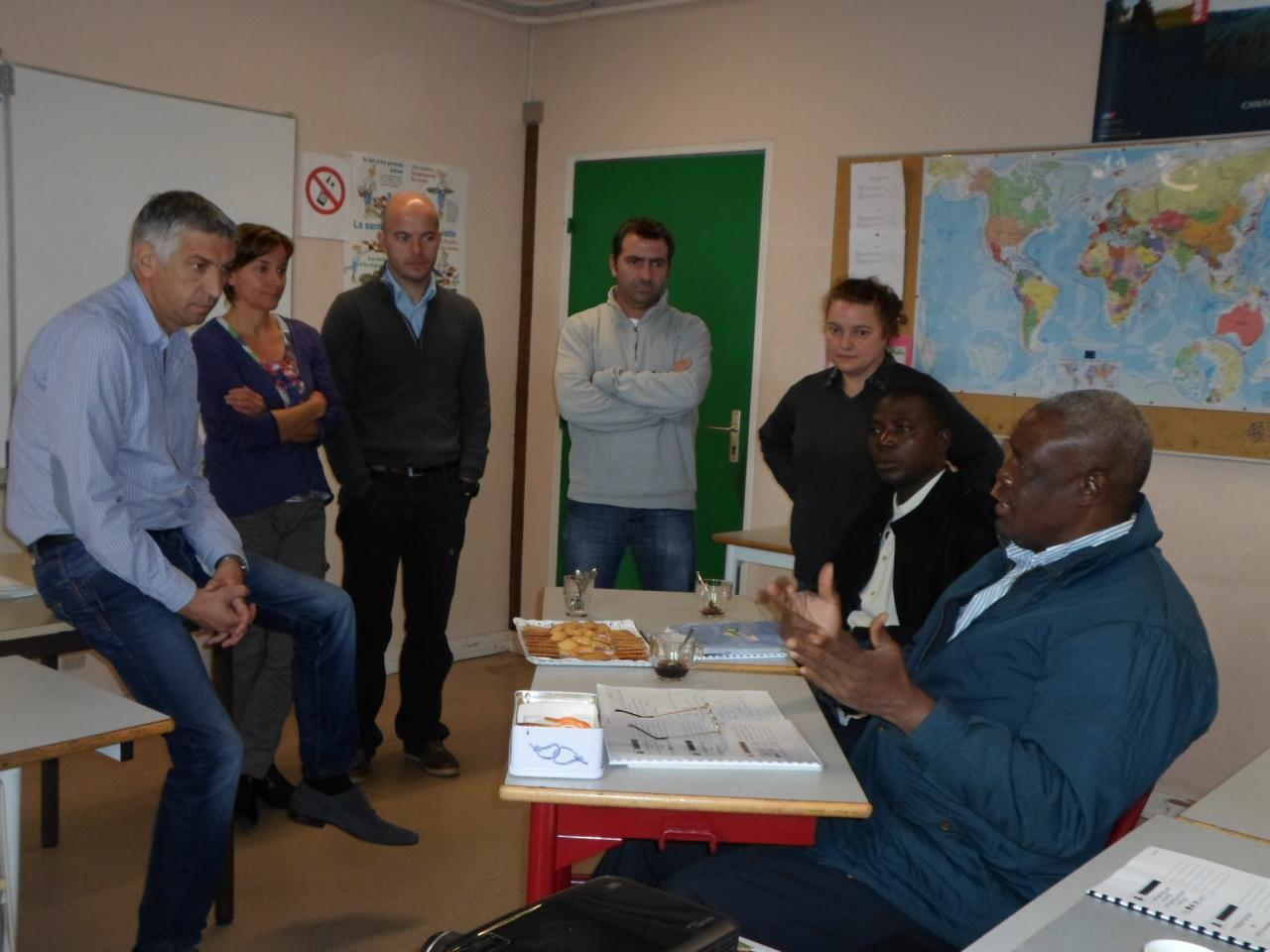 Entretien avec Mr DELAMAIDE, directeur du Centre de formation d'apprentis