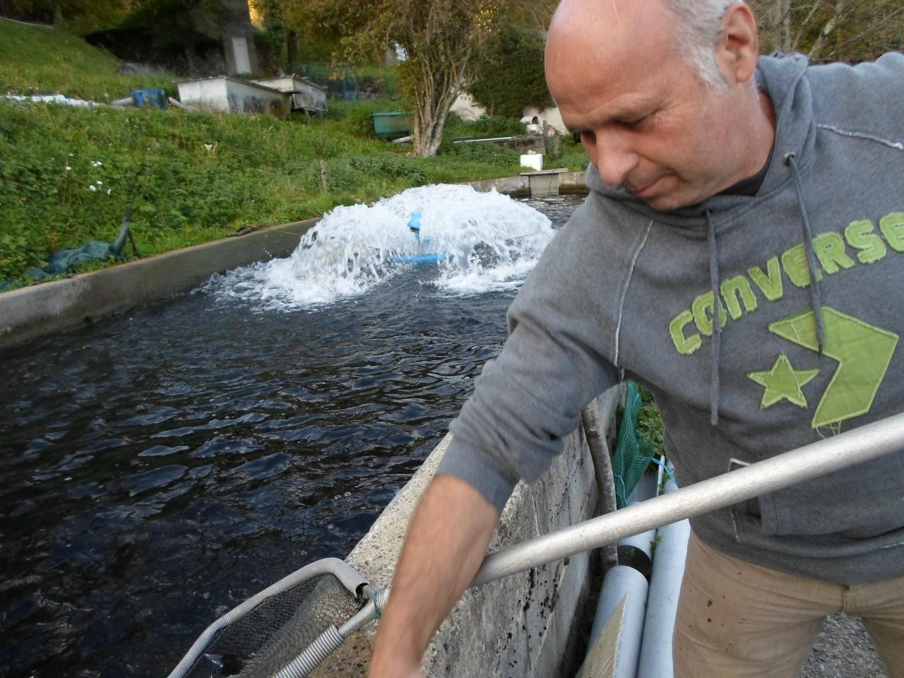 A la pisciculture du Ganel