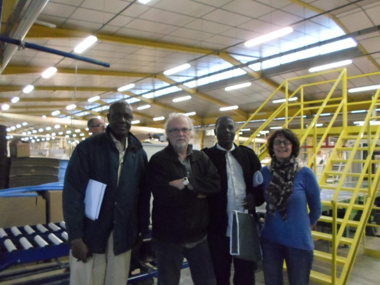 Visite de l'usine PYRAM Vic sur Cère