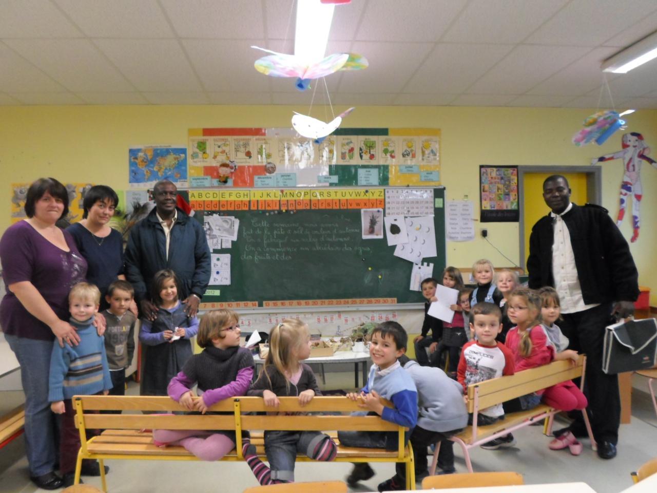 A la maternelle de Vic sur Cère